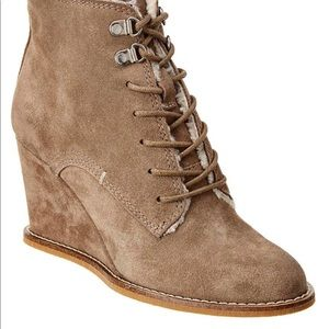 Dolce vita suede bootie. Never been worn w/o box